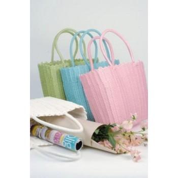 Strandtaske i plast