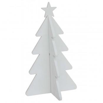 Hvidt juletræ - lille (10 cm)