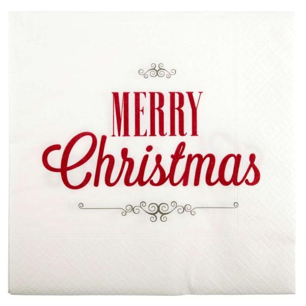 Servietter Merry Christmas