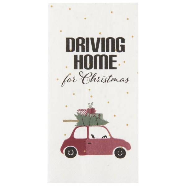 Servietter Driving home for Christmas