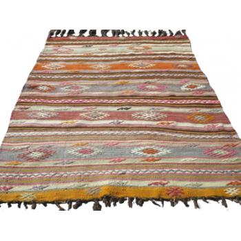 Kelim tæppe (110x126 cm) (T14)