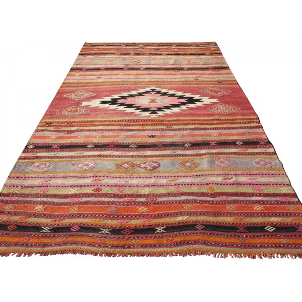 Kelim tæppe (179x330 cm) (T9)