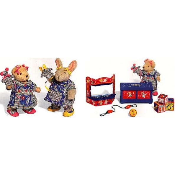 Legetøjskasse og dukketeater (Play Date)